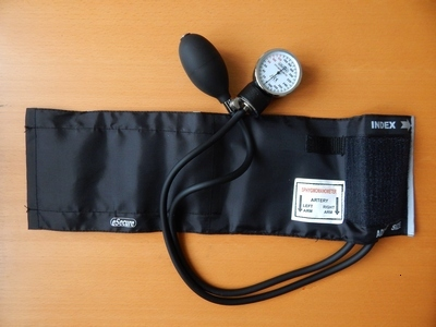 A sphygmomometer used as a Core Exercise for Better Kettlebell Workouts